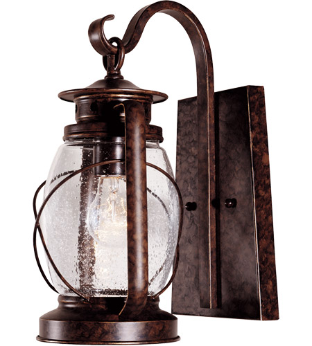 Savoy House Smith Mountain 1 Light Outdoor Wall Lantern in New Tortoise Shell 5-3410-56 photo