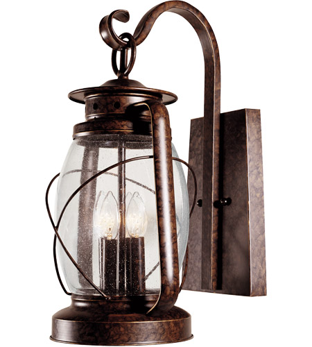 Savoy House Smith Mountain 4 Light Outdoor Wall Lantern in New Tortoise Shell 5-3412-56 photo