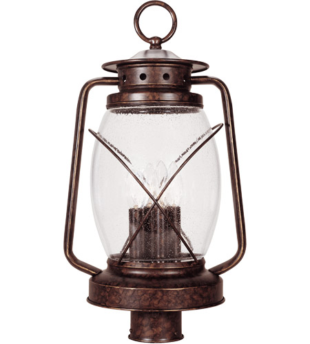 Savoy House 5-3413-56 Smith Mountain 4 Light 21 inch New Tortoise Shell Outdoor Post Lantern photo