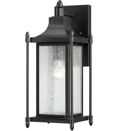 Savoy House 5-3451-BK Dunnmore 1 Light 16 inch Black Outdoor Wall Lantern photo