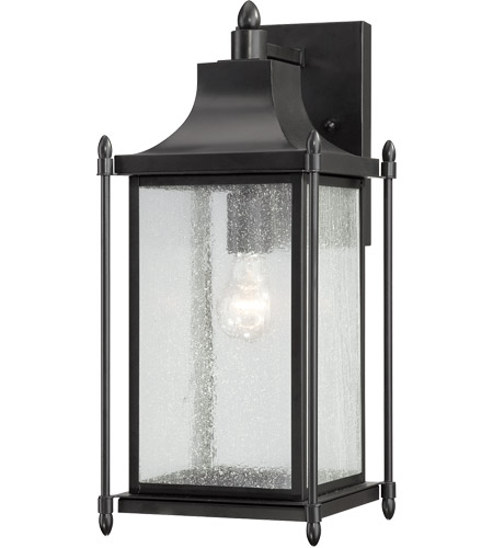 Savoy House 5-3452-BK Dunnmore 1 Light 18 inch Black Outdoor Wall Lantern photo