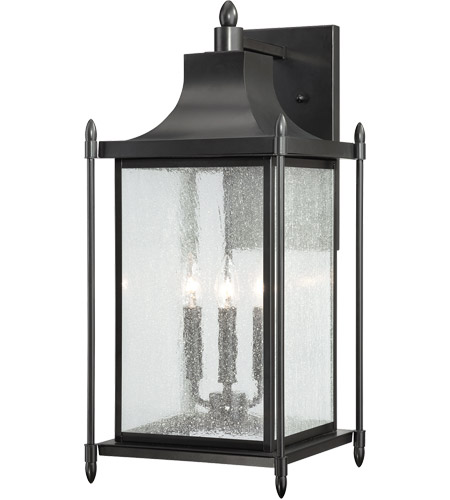 Savoy House 5 3453 Bk Dunnmore 3 Light 24 Inch Black