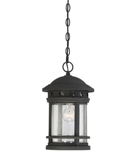 Savoy House 5-362-BK Upton 1 Light 9 inch Black Outdoor Hanging Lantern photo