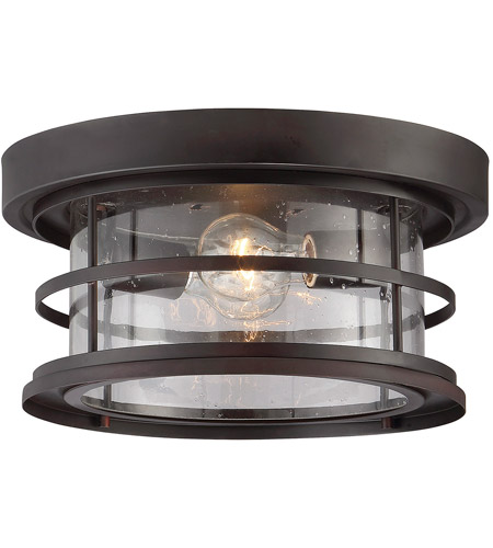 Savoy House 5-369-13-13 Barrett 2 Light 13 inch English Bronze Outdoor Flush Mount photo
