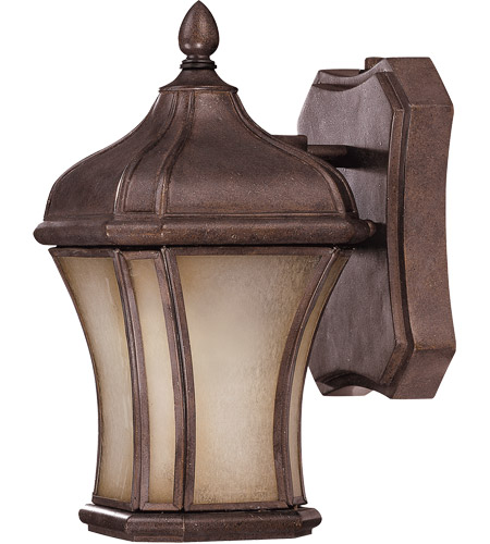 Savoy House Realto 1 Light CFL Outdoor Wall Lantern in Walnut Patina 5-3800-FL-40 photo