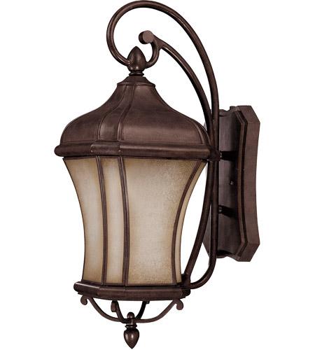 Savoy House Realto 1 Light CFL Outdoor Wall Lantern in Walnut Patina 5-3802-FL-40 photo