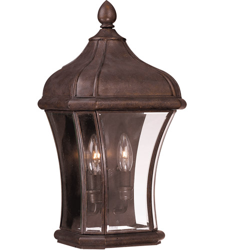 Savoy House 5-3808-40 Realto 2 Light 19 inch Walnut Patina Outdoor Pocket Lantern photo