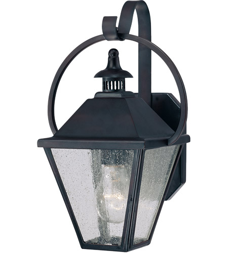 Savoy House Royal Street 1 Light Outdoor Wall Lantern in English Bronze 5-4000-13 photo