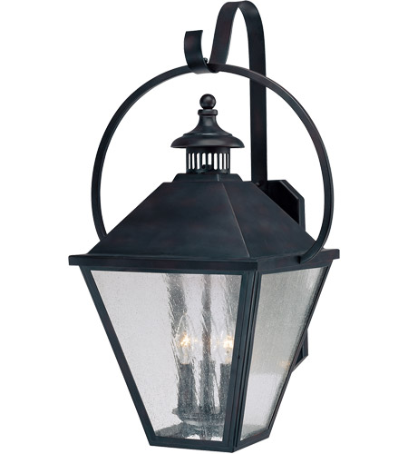 Savoy House Royal Street 3 Light Outdoor Wall Lantern in English Bronze 5-4002-13 photo
