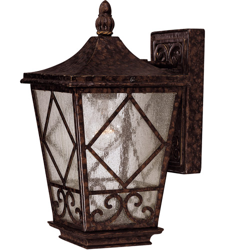 Savoy House 5-420-56 Felicity 1 Light 14 inch New Tortoise Shell Outdoor Wall Lantern photo