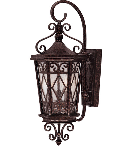 Savoy House 5-421-56 Felicity 3 Light 26 inch New Tortoise Shell Outdoor Wall Lantern photo