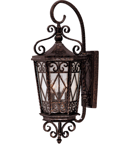 Savoy House 5-422-56 Felicity 3 Light 31 inch New Tortoise Shell Outdoor Wall Lantern photo