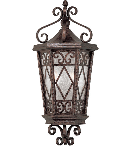 Savoy House Felicity 2 Light Outdoor Wall Lantern in New Tortoise Shell 5-425-56