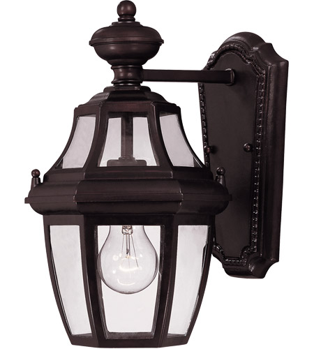 Savoy House Endorado 1 Light Outdoor Wall Lantern in English Bronze 5-490-13