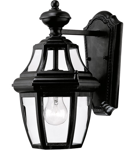 Savoy House 5-490-BK Endorado 1 Light 13 inch Black Outdoor Wall Lantern photo