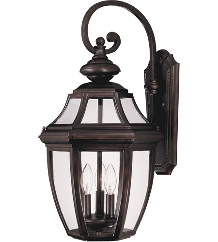 Savoy House Endorado 3 Light Outdoor Wall Lantern in English Bronze 5-493-13