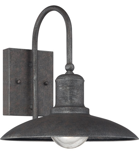 Savoy House Mica 1 Light Outdoor Wall Lantern in Artisan Rust 5-5031-1-32