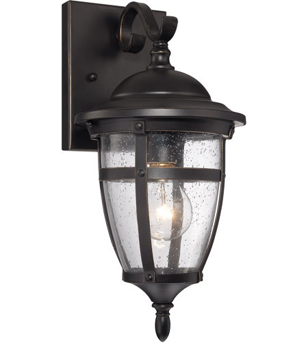 Savoy House Dillon 1 Light Outdoor Wall Lantern in English Bronze with Gold 5-5051-1-213