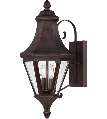 Savoy House Malta 2 Light Outdoor Wall Lantern in English Bronze 5-5610-13 photo
