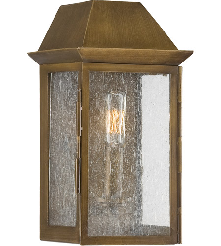 Savoy House Perry 1 Light Outdoor Wall Lantern in Burnished Copper 5-5870-36 photo