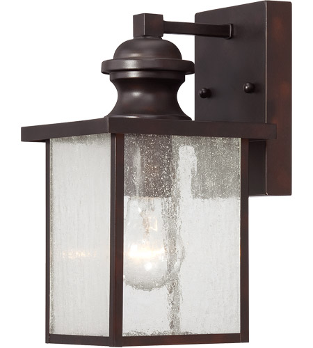 Savoy House Newberry 1 Light Outdoor Wall Lantern in English Bronze 5-600-13