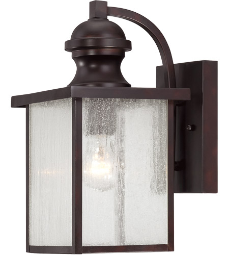 Savoy House 5-601-13 Newberry 1 Light 7 inch English Bronze Lantern Ceiling Light in Seeded photo