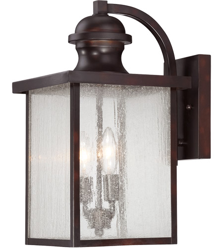 Savoy House 5-602-13 Newberry 2 Light 17 inch English Bronze Outdoor Wall Lantern photo