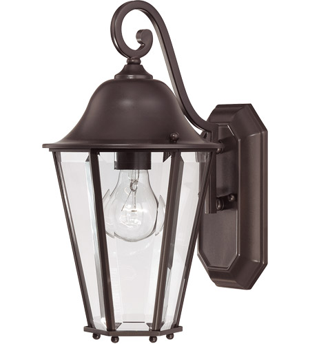 Savoy House 5-6211-13 Truscott 1 Light 14 inch English Bronze Outdoor Wall Lantern photo