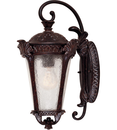 Savoy House Pompia 1 Light Outdoor Wall Lantern in Distressed Bronze 5-667-59 photo