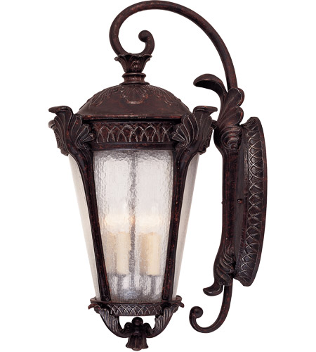 Savoy House Pompia 4 Light Outdoor Wall Lantern in Distressed Bronze 5-669-59 photo