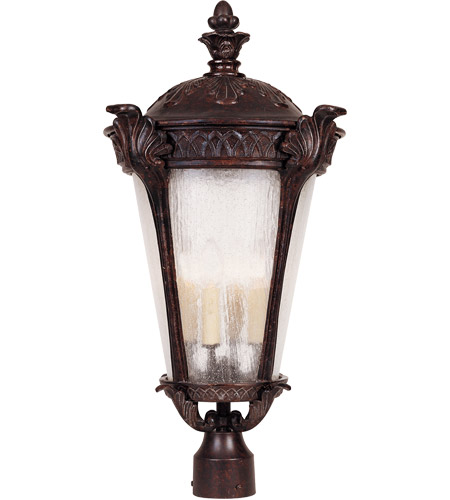 Savoy House Pompia 4 Light Outdoor Post Lantern in Distressed Bronze 5-673-59 photo