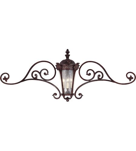Savoy House Pompia 3 Light Outdoor Wall Lantern in Distressed Bronze 5-675-59 photo
