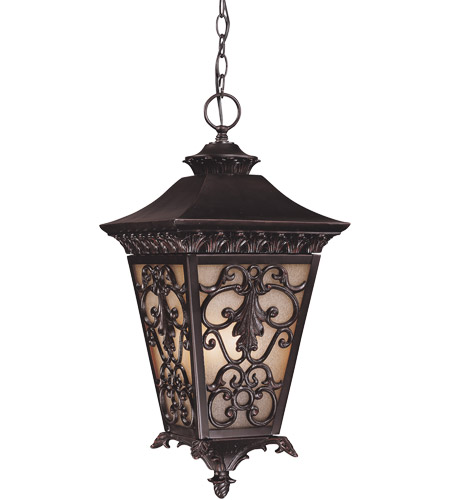 Savoy House Bientina 4 Light Outdoor Hanging Lantern in Slate 5-7134-25 photo