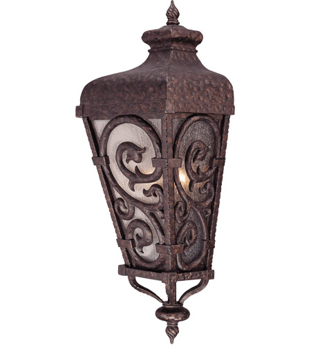 Savoy House Spaniard 2 Light Outdoor Wall Lantern in New Tortoise Shell w/ Gold 5-7144-56
