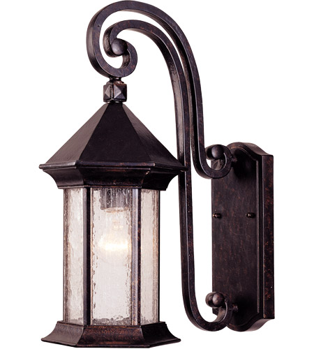 Savoy House Radcliffe 1 Light Outdoor Wall Lantern in Oily Bronze 5-7600-2 photo
