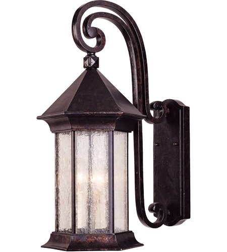 Savoy House Radcliffe 3 Light Outdoor Wall Lantern in Oily Bronze 5-7602-2 photo