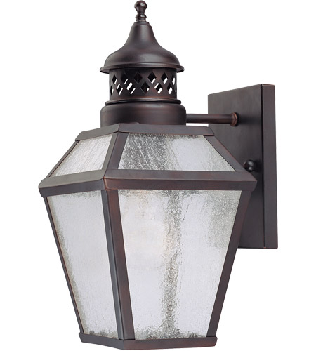 Savoy House 5-772-13 Chiminea 1 Light 13 inch English Bronze Outdoor Wall Lantern photo