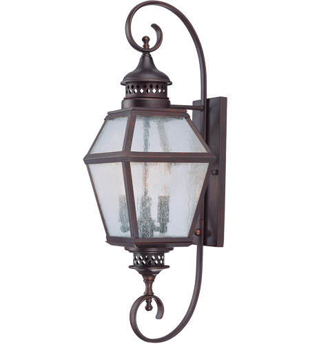 Savoy House 5-773-13 Chiminea 3 Light 28 inch English Bronze Outdoor Wall Lantern photo