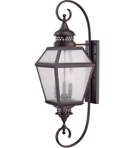 Savoy House 5-774-13 Chiminea 3 Light 11 inch English Bronze Lantern Ceiling Light in Pale Cream Seeded photo