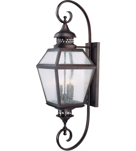 Savoy House Chiminea 4 Light Outdoor Wall Lantern in English Bronze 5-775-13 photo