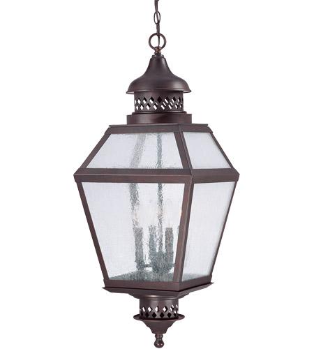 Savoy House Chiminea 4 Light Outdoor Hanging Lantern In English Bronze 5 776 13