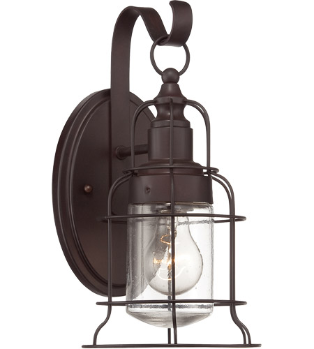 Savoy House Scout 1 Light Outdoor Wall Lantern in English Bronze 5-8070-1-13 photo
