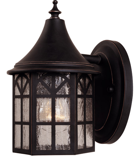 Savoy House Manchester 1 Light Outdoor Wall Lantern in Slate 5-8250-25 photo