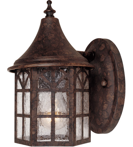 Savoy House Manchester 1 Light Outdoor Wall Lantern in New Tortoise Shell 5-8250-56 photo