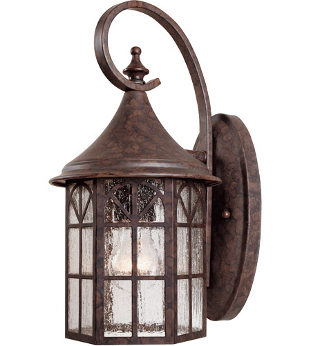 Savoy House Manchester 1 Light Outdoor Wall Lantern in New Tortoise Shell 5-8251-56 photo