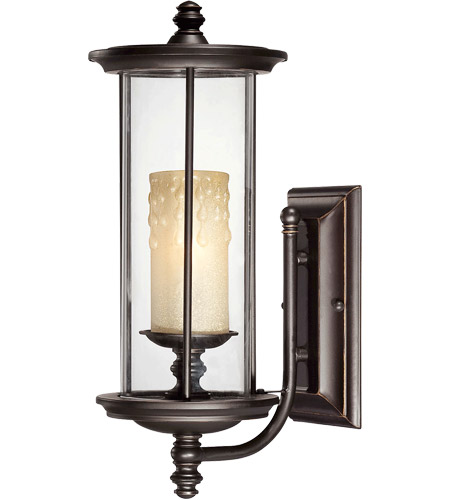 Savoy House Chestatee 1 Light Outdoor Wall Lantern in English Bronze w/Gold 5-8710-213