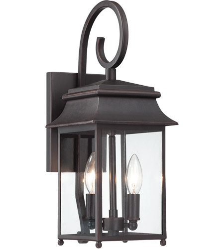 Savoy House Durham 2 Light Outdoor Wall Lantern in Slate 5-9540-25 photo