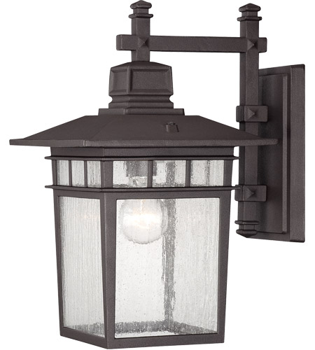 Savoy House 5-9591-330 Linden 1 Light 15 inch Textured Bronze Outdoor Wall Lantern photo