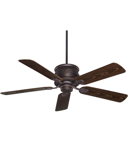 Savoy House 52-004-5CN-13 Capri 52 inch English Bronze with Chestnut Blades Outdoor Ceiling Fan photo