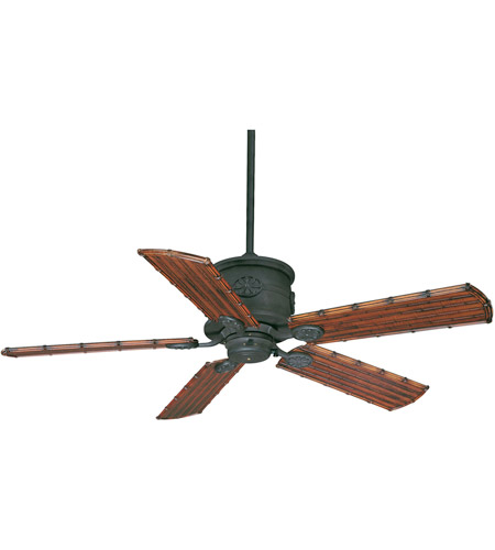 Savoy House Capri Ceiling Fan in Horseshoe Black 52-004-5WI-24 photo